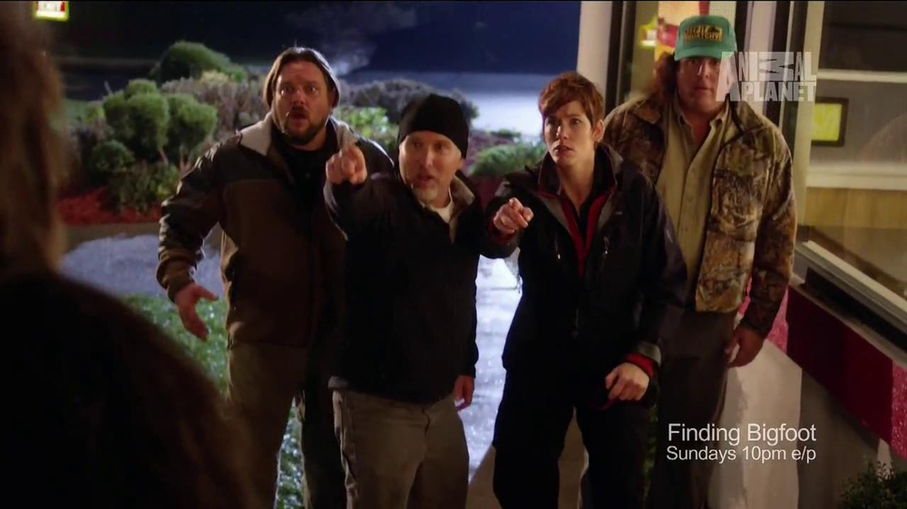 Wendy's Dave's Hot 'n Juicy Burger TV Commercial, 'Animal Planet:Finding Bigfoot'