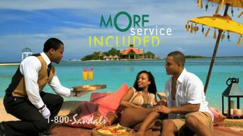 Sandals Resorts TV Spot, 'Airfare Credit' - Thumbnail 4