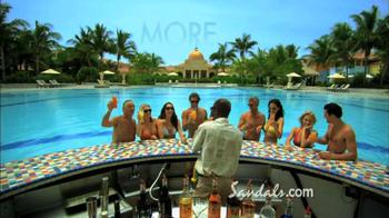 Sandals Resorts TV Spot, 'Airfare Credit' - Thumbnail 5