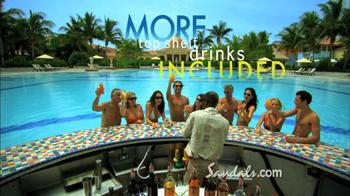 Sandals Resorts TV Spot, 'Airfare Credit' - Thumbnail 6