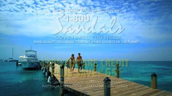 Sandals Resorts TV Spot, 'Airfare Credit' - Thumbnail 8