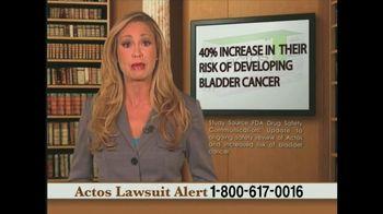 Weitz and Luxenberg TV Spot, 'Actos Lawsuit'