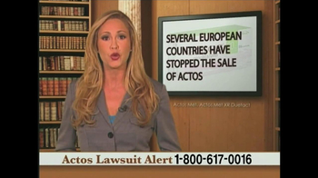 Weitz and Luxenberg TV Spot, 'Actos Lawsuit' - Thumbnail 6