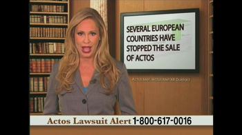 Weitz and Luxenberg TV Spot, 'Actos Lawsuit' - Thumbnail 7