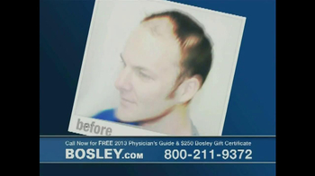Bosley TV Spot '250 Gift Certificate' - Thumbnail 1