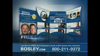 Bosley TV Spot '250 Gift Certificate' - Thumbnail 10