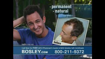 Bosley TV Spot '250 Gift Certificate' - Thumbnail 4
