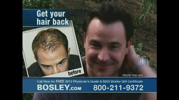 Bosley TV Spot '250 Gift Certificate' - Thumbnail 6