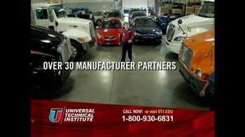 Universal Technical Institute (UTI) TV Spot 'Programs' - Thumbnail 3