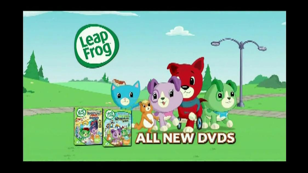 Leap Frog DVD's TV Commercial - Video