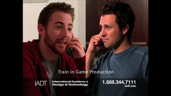International Academy of Design and Technology TV Spot, 'Game Production' - Thumbnail 3
