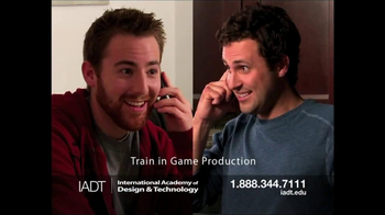 International Academy of Design and Technology TV Spot, 'Game Production' - Thumbnail 4