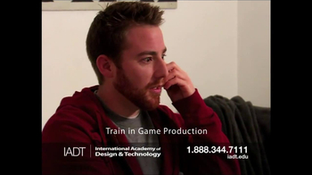 International Academy of Design and Technology TV Spot, 'Game Production' - Thumbnail 5