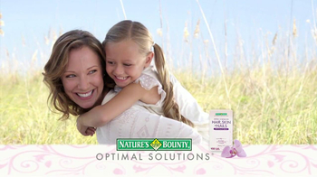 Nature's Bounty Hair, Skin & Nails TV Spot