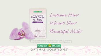 Nature's Bounty Hair, Skin & Nails TV Spot - Thumbnail 6