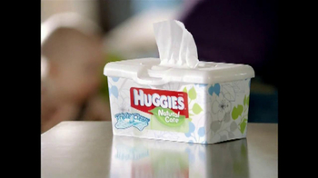 Huggies Natural Care Wipes TV Spot, 'Triple Clean' - Thumbnail 1