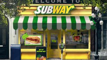 Subway Big Hot Pastrami Melt TV Spot, 'Perfect Pastrami' - Thumbnail 1