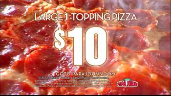 Papa John's TV Spot, 'Big Matchups' - Thumbnail 6