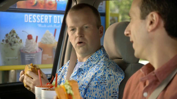 Sonic Drive-In Ultimate Grilled Cheese TV Spot, 'Business Class' - Thumbnail 2