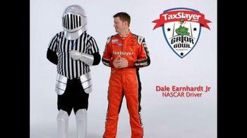 TaxSlayer.com TV Spot, 'Gator Bow Coin Toss' Featuring Dale Earnhardt Jr.