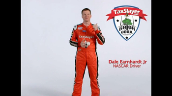 TaxSlayer.com TV Spot, 'Gator Bow Coin Toss' Featuring Dale Earnhardt Jr. - Thumbnail 1