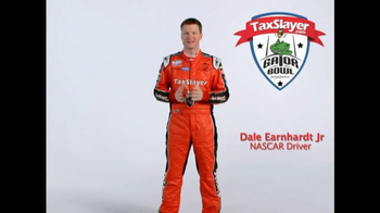 TaxSlayer.com TV Spot, 'Gator Bow Coin Toss' Featuring Dale Earnhardt Jr. - Thumbnail 2