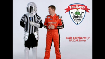 TaxSlayer.com TV Spot, 'Gator Bow Coin Toss' Featuring Dale Earnhardt Jr. - Thumbnail 3