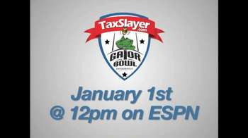 TaxSlayer.com TV Spot, 'Gator Bow Coin Toss' Featuring Dale Earnhardt Jr. - Thumbnail 5
