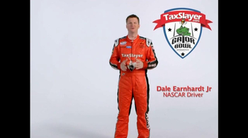 TaxSlayer.com TV Spot, 'Gator Bow Coin Toss' Featuring Dale Earnhardt Jr. - Thumbnail 6
