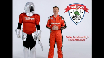 TaxSlayer.com TV Spot, 'Gator Bow Coin Toss' Featuring Dale Earnhardt Jr. - Thumbnail 8