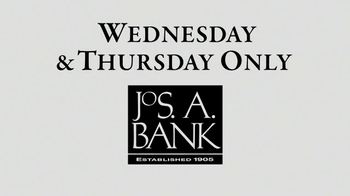 JoS. A. Bank TV Spot, 'Wednesday and Thursday Buy 1, Get 2 Free' - Thumbnail 1