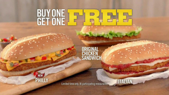 Burger King Original Chicken Sandwich TV Spot, 'Buy 1, Get 1' - Thumbnail 6