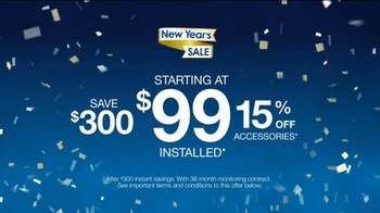 ADT New Year's Sale TV Spot, 'Countdown' - Thumbnail 3