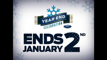 Ford Year End Celebration TV Spot, 'Days to Save' - Thumbnail 1