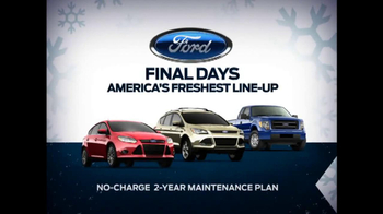 Ford Year End Celebration TV Spot, 'Days to Save' - Thumbnail 6