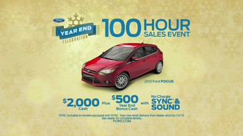 Ford Year End Celebration TV Spot, '100 Hours' - Thumbnail 9