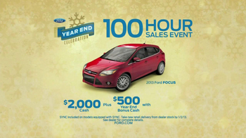 Ford Year End Celebration TV Spot, '100 Hours' - Thumbnail 8