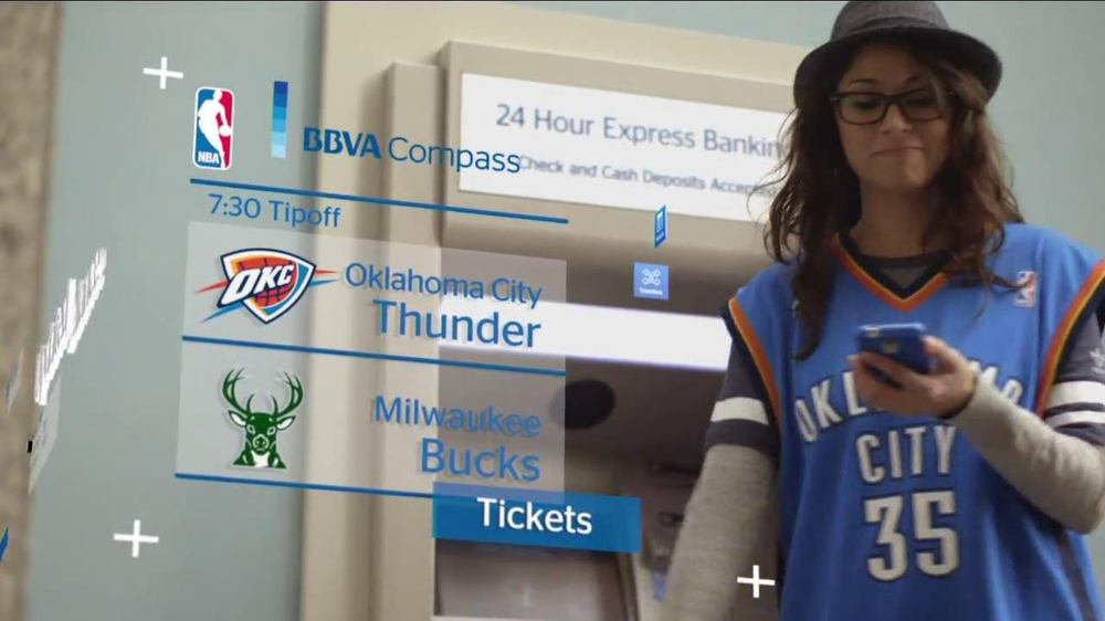 BBVA Compass TV Commercial, 'NBA' - Video