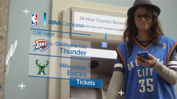 BBVA Compass TV Spot, 'NBA'