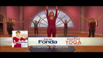 Jane Fonda AM/PM Yoga for Beginners TV Spot  - 14 commercial airings