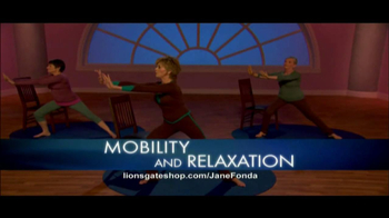 Jane Fonda AM/PM Yoga for Beginners TV Spot  - Thumbnail 6