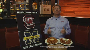 Outback Steakhouse TV Spot, 'Free Appetizer' Featuring Jeff Smith - Thumbnail 2