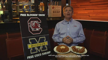 Outback Steakhouse TV Spot, 'Free Appetizer' Featuring Jeff Smith