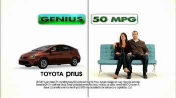 2013 Toyota Prius TV Spot, 'Roxanne and Joe' - Thumbnail 5