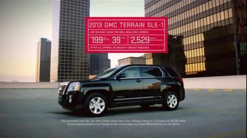 2013 GMC Terrain SLE-1 TV Spot, 'Feature Comparisons' - Thumbnail 7