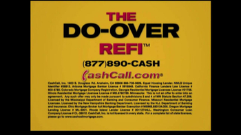 Cash Call Do-Over Refi TV Spot, '30-Year Fixed: 3.25%' - Thumbnail 2