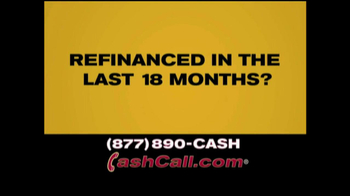 Cash Call Do-Over Refi TV Spot, '30-Year Fixed: 3.25%' - Thumbnail 3