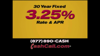 Cash Call Do-Over Refi TV Spot, '30-Year Fixed: 3.25%' - Thumbnail 4