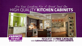 Cabinets To Go TV Spot, 'Great Deal on High Quality'