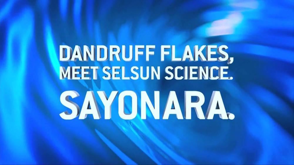 Selsun Blue Shampoo and Scrub TV Commercial, 'Sayonara'